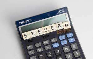 The German word Steuern