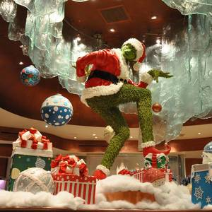 The Grinch at Bellagio