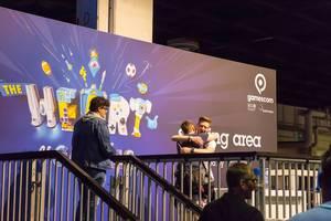 The Heart of Gaming Plakat - Gamescom 2017, Köln