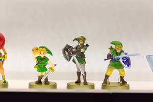 The Legend of Zelda Link Amiibo - Gamescom 2017, Köln