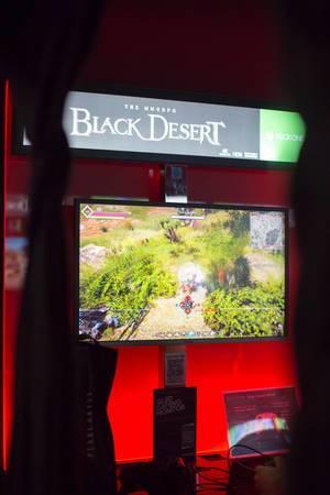 The MMORPG Black Desert bei der Gamescom 2017