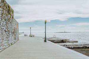 The Porec promenade