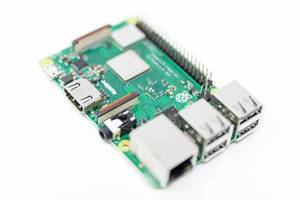 The Raspberry Pi 3 - a miniature computer with the form factor of a credit card