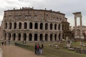 The Ruins of the Teatro di Marcello in Rome
