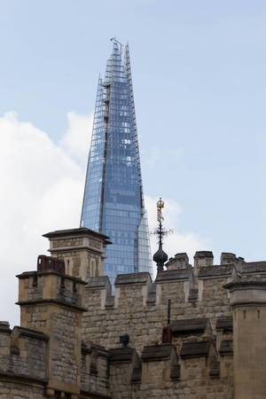 The Shard Turm in London