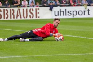 Thomas Kessler beim Training am 25.06.2018