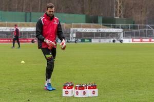 Thomas Kessler nach dem Training