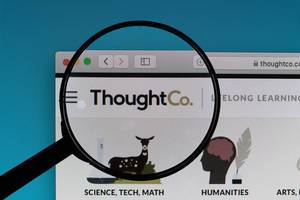 ThoughtCo.com logo under magnifying glass