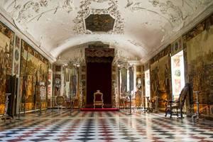 Throne in a royal ball room in Denmark (Flip 2019)