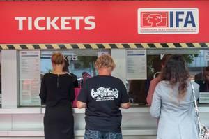 Ticket counter at IFA Berlin 2018