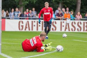 Timo Horn ready to catch the ball