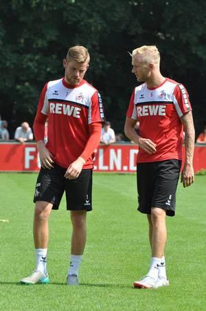 Timo Horn und Kevin Vogt