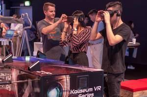 Tischfußball in der virtuellen Realität von Kynoa Games. Koliseum Series VR