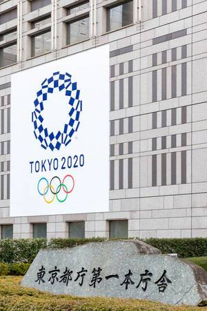Tokyo 2020: Olympische Spiele in Tokio, japan
