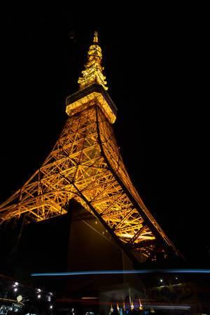 Tokyo Tower bei Nacht, Tokyo