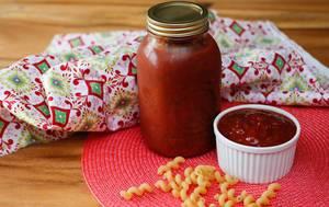 Tomato Pasta Sauce with Pasta