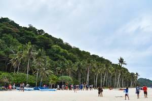 Tourists enjoying at Puka Boracay Beach (Flip 2019)
