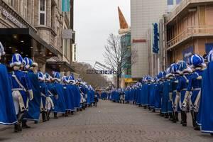 Traditionskorps Blaue Funken - Kölner Karneval 2018