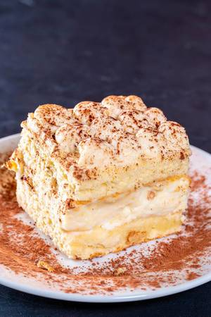 Tramisu dessert.