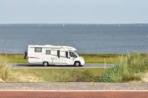 Traveling in a camper van