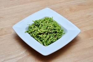 Trofie-Pasta mit Karottengrün-Pesto