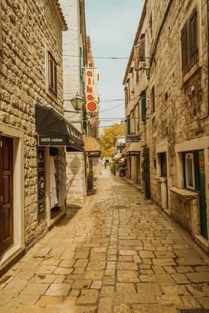 Trogir streets