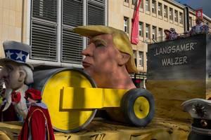 Trump, der langsame Walzer - Kölner Karneval 2018