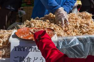 Try! Taste! Traditional japanse fish products