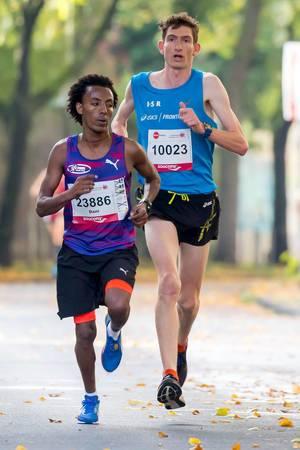 Tsgay Dani, Johnstone Nikki - Köln Marathon 2017