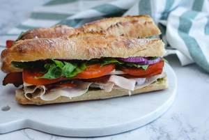 Turkey Sandwich with Salad and Tomato   (Flip 2019)