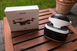 Unboxing the nerd gadgets PlaystationVR and DJI Spark