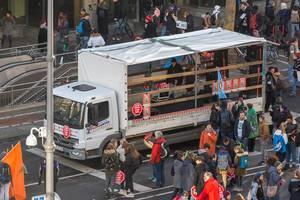 Unterhaltung und Lautstärke für die Fridays for Future Demonstration in Kölns Innenstadt