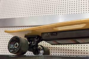 Unterseite eines Elektro-Skateboards - IAW Köln 2018