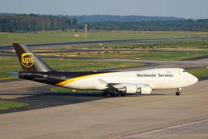 UPS Boeing B747, N575UP am Flughafen Köln/Bonn (CGN)
