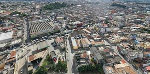 Urban Labyrinth of a part of Guatemala City