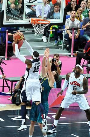 USA - Australien während der Olymischen Spiele 2012
