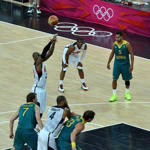 USA - Australien während Olympia 2012