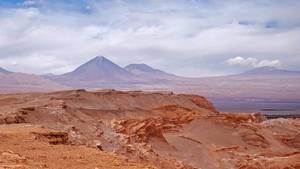 Valley De La Luna in Chile