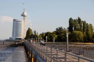 Vasco da Gama tower and Parque das Nações