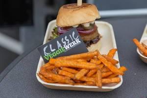 """Veganer """"Classic"""" Burger von Veggiewerk"""