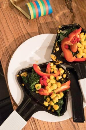 Veganes Raclette zu Silvester