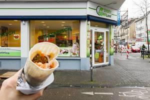 Veganland auf der Venloer Straße in Köln
