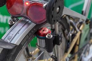Velogical Velospeeder, der weltleichteste Standardmotor für Fahrräder ausgestellt auf der E-Cologne Messe
