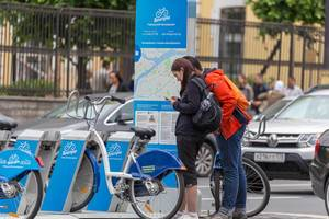 Velogorod bike sharing in Russia