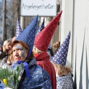 Verkleidungen (Zauberer) am Rosenmontagszug