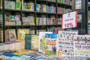 Vietnamesischer Buchladen im Viertel District 1 in Ho Chi Minh City