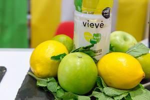 Vieve Protein-Getränk mit Apfel-Zitrone-Geschmack