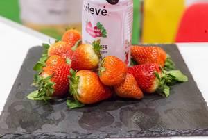 Vieve Protein-Getränk mit Erdbeergeschmack