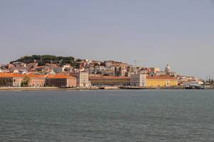 View of Praça do Comércio from the ferry