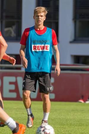 Vincent Koziello beim Training am 12.09.2018